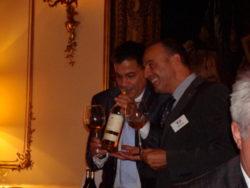 Charlottenlund Vin Clubs har besøger Den Franske Ambassade
