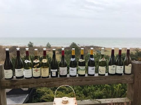 Bourgogne smagning vin udvalget