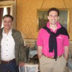 Erwan Le Brozec fra chateau Mouton Rothschild besøger Charlottenlund Vin Club