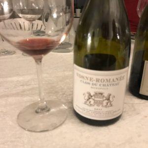Endnu en af de fantastiske vine til vore bourgogne smagning